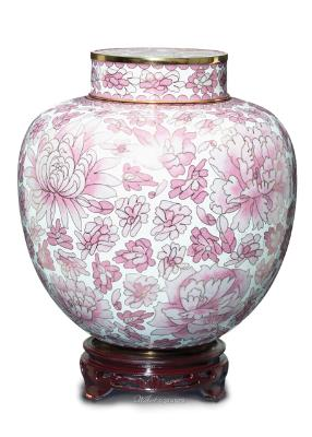 Cloisonne-Cameo-Rose